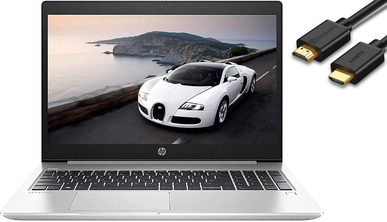 "2019 HP Probook 450 G6 15.6"" HD Business Laptop (Intel Quad-Core i5-8265U, 16GB DDR4 RAM, 256GB PCIe NVMe M.2 SSD + 1TB HDD, UHD 620) USB Type-C, RJ45, HDMI, Windows 10 Pro Professional"