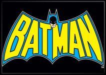 """Ata-Boy DC Comics Classic Bat Logo 2.5"""" x 3.5"""" Magnet for Refrigerators and Lockers"""