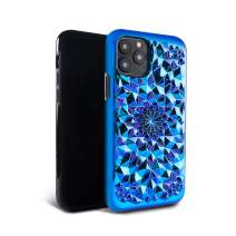 FELONY CASE iPhone 11 Pro Max Pro Case Kaleidoscope CASE - 3D Geometric 360° Shock Absorbing Protective iPhone 11 Pro Max Pro Case Protects Screen & Body - 9 Unique Colors (Cosmic Holographic)