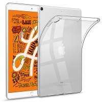 "HBorna Soft Clear Case for iPad Mini 5 2019, Slim Lightweight Silicon TPU Back Cover for 7.9"" iPad Mini 2019 5th Generation"