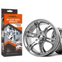 Visbella DIY Alloy Wheel Repair Adhesive Kit Rim Surface Damage Car Auto Rim Dent Scratch Care (Paper Packaging) (hub-227)