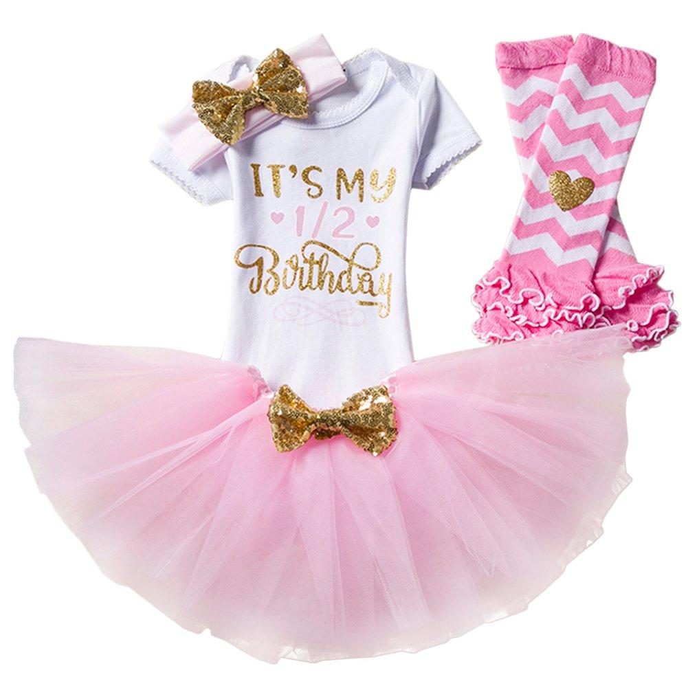 Baby Girls 1st First Birthday Cake Smash Tutu Outfit Peach Gold hairband tutu