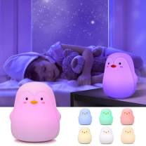 Penguin Gifts, GoLine Kids Night Lights for Girls, Gifts for Women Girlsfriend Teen Girls,Christmas Kids Lamp Best Gifts for Toddlers.