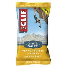 Clifbar Clif Bars - 12 Pack Peanut Butter and Honey w/Sea Salt, One Size