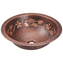 923 Single Bowl Copper Sink, Without Faucet
