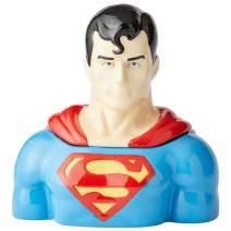 Enesco 6003737 DC Comics Ceramics Superman Cookie Jar Canister, 10.5 Inch, Multicolor