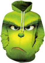 FLYCHEN Men Cheetos Hoodie 3D Printed Sweatshirt Hooded Pullover