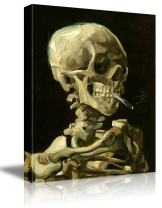 """wall26 -Skeleton by Vincent Van Gogh Painting - Canvas Art Wall Decor - 16""""x20"""""""