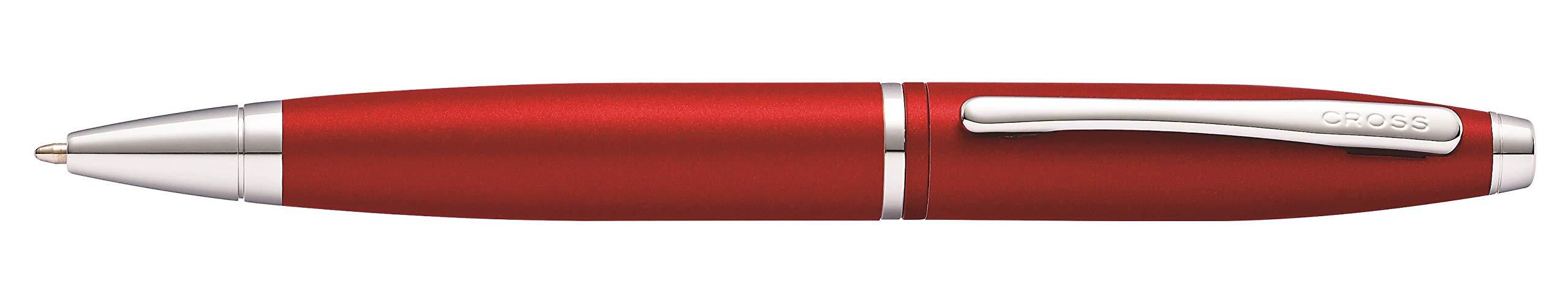 Cross AT0112-19 Calais Matte Metallic Crimson Ballpoint Pen