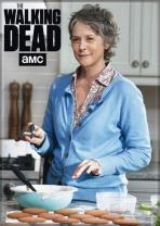 """Ata-Boy The Walking Dead Carol Baking Cookies 2.5"""" x 3.5"""" Magnet for Refrigerators and Lockers"""