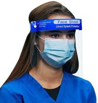 Face Shield - Plastic Face Shield, Protect Eyes and Face, Anti-Fog Work Industry Facial Cover for Men and Women, Safety Full Face Shields (20 Pack)