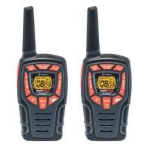 Cobra CXT565 Walkie Talkies 28-Mile Two-Way Radios, Rechargeable (Pair),Black