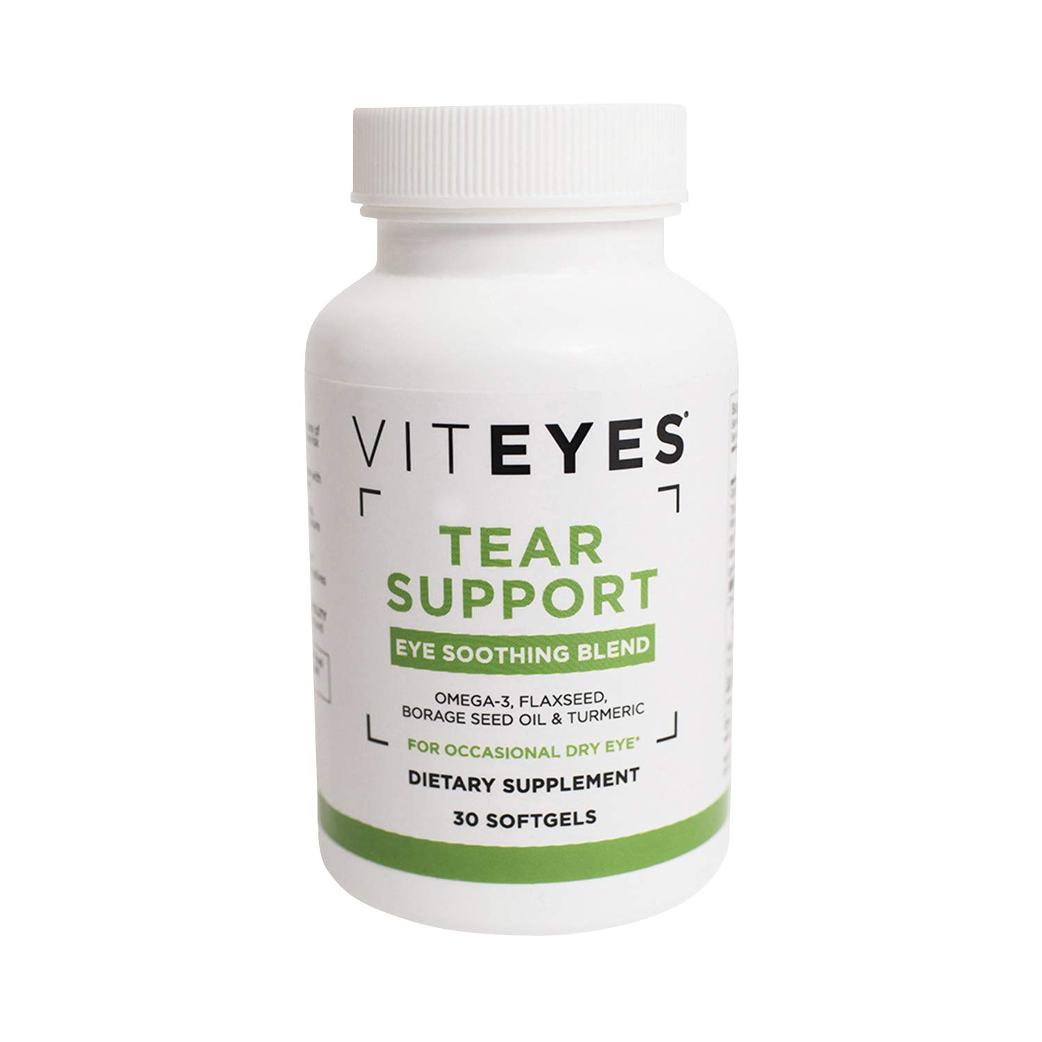 Viteyes Tear Support Eye Soothing Blend, Dietary Supplement for Occasional Dry Eye, 30 Softgels