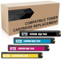 Do it Wiser Compatible Ink Cartridge Replacement for HP 972X 972 HP Pagewide Pro 477dw 477dn 577dw 577z 452dn 452dw 552dw P55250dw P57750dw (High Yield, 4 Pack)