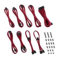 CableMod C-Series ModFlex Classic Cable Kit for Corsair RMi/RMX/RM (Black Label) - RED [cm-CSR-CKIT-KR-R]