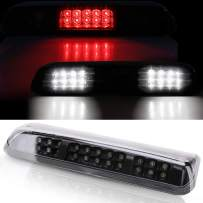 Smoke LED Third Brake Light 3 Row LED Compatible with Ford F150 & Explorer 2004 2005 2006 2007 2008 - LED 3rd Brake Light / Reverse Light / Cargo Light