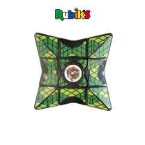"Rubik's Cube Magic Star Spinner, Perfect for Fidgeting, Simple & Fun Solving Element, Spin It, Twist It, Balance It & Solve It, Age 4+, Durable Plastic, 5.0"" x 3.2"" x 1.0"" (Green)"