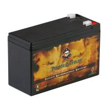 12V 7AH SLA Rechargeable Replacement Fish Finder Battery