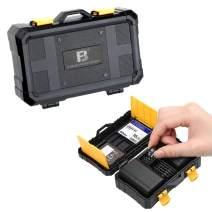 VKO LP-E6N EN-EL15 EN-EL14 NP-FW50 NP-W126S Camera Battery Storage Case, SD CF Micro SD Memory Card Case Holder