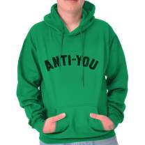 Brisco Brands Anti You Funny Sarcastic Rude Offensive Gym Hoodie