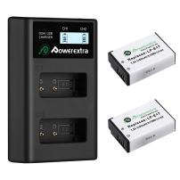 Powerextra 2 Pack Replacement Canon LP-E17 Battery and Dual USB Charger for Canon EOS RP, Rebel SL2, SL3, T6i, T6s, T7i, EOS M3, M5, M6, EOS 200D, 77D, 750D, 760D, 800D, 8000D, KISS X8i Camera