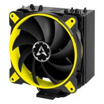ARCTIC Freezer 33 eSports ONE - Tower CPU Cooler with 120 mm PWM Processor Fan for Intel and AMD Sockets - for CPUs up to 200 Watts TDP - Silent and Efficient (Yellow)