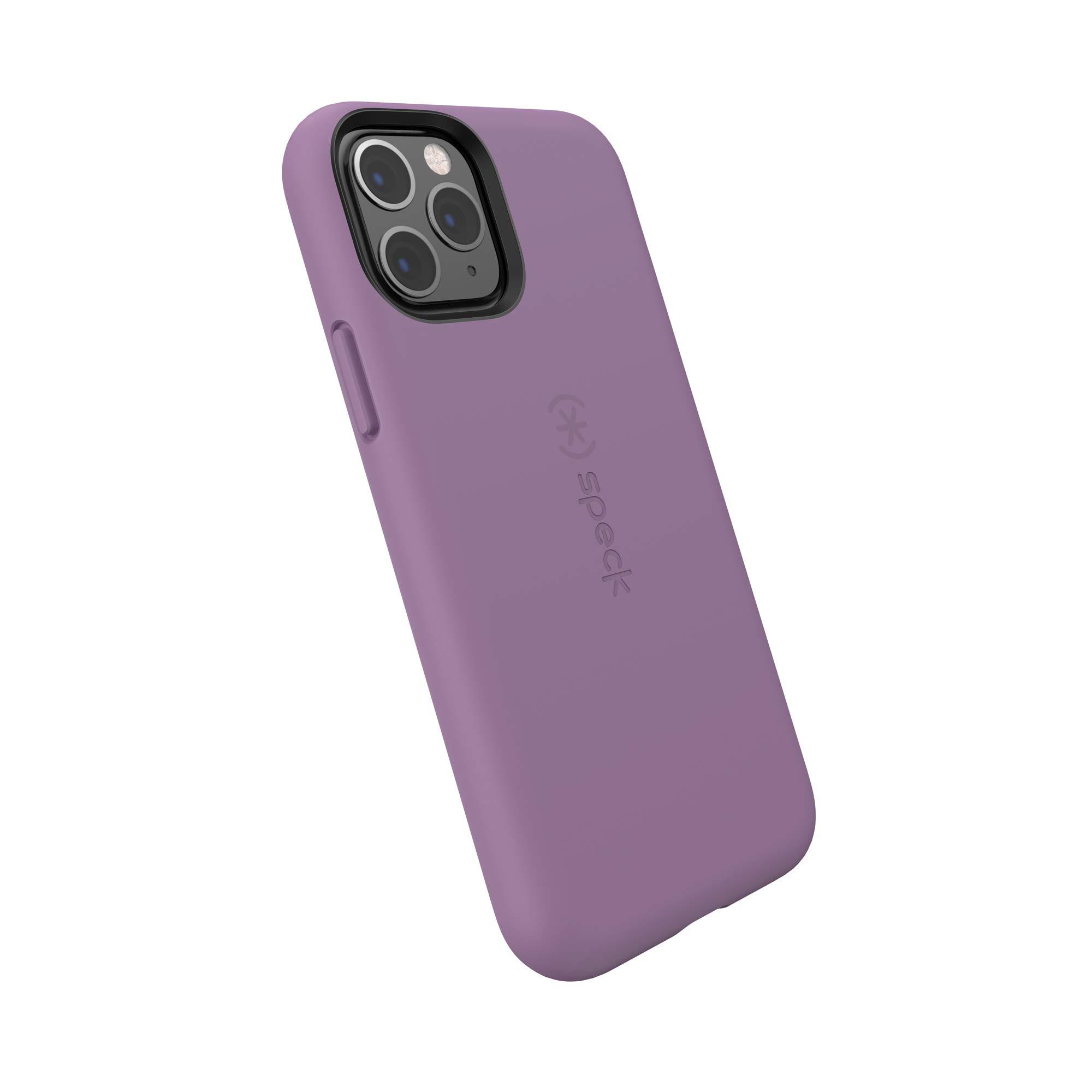 Speck CandyShell Fit iPhone 11 Pro Case, Lilac Purple/Lilac Purple