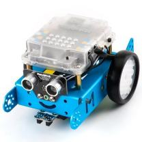 Makeblock DIY Mbot Kit(Bluetooth Version) - Stem Education - Arduino - Scratch 2.0 - Programmable Robot Kit for Kids to Learn Coding, Family, Blue