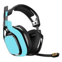 MightySkins Skin Compatible with Astro A40 Gaming Headset - Solid Baby Blue | Protective, Durable, and Unique Vinyl Decal wrap Cover | Easy to Apply, Remove, and Change Styles | Made in The USA