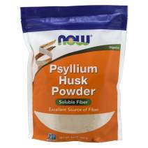 NOW Supplements, Psyllium Husk Powder, Non-GMO Project Verified, Soluble Fiber, 24-Ounce