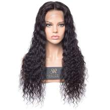 Sheenreal 13X6 Deep Wave Lace Front Wigs Human Hair 150% Density Pre Plucked Hairline Brazilian virgin cuticle aligned hair Wigs with Baby Hair for Black Women 22 inch