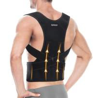 """Back Brace Posture Corrector for Men and Women - Shoulder Lumbar Adjustable Breathable - Improve Posture and Relieve Pain for Neck, Back and Shoulder L(34""""-39"""")"""