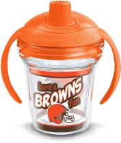 Tervis NFL Cleveland Browns Born A Fan Sippy Cup, 6 oz, Clear