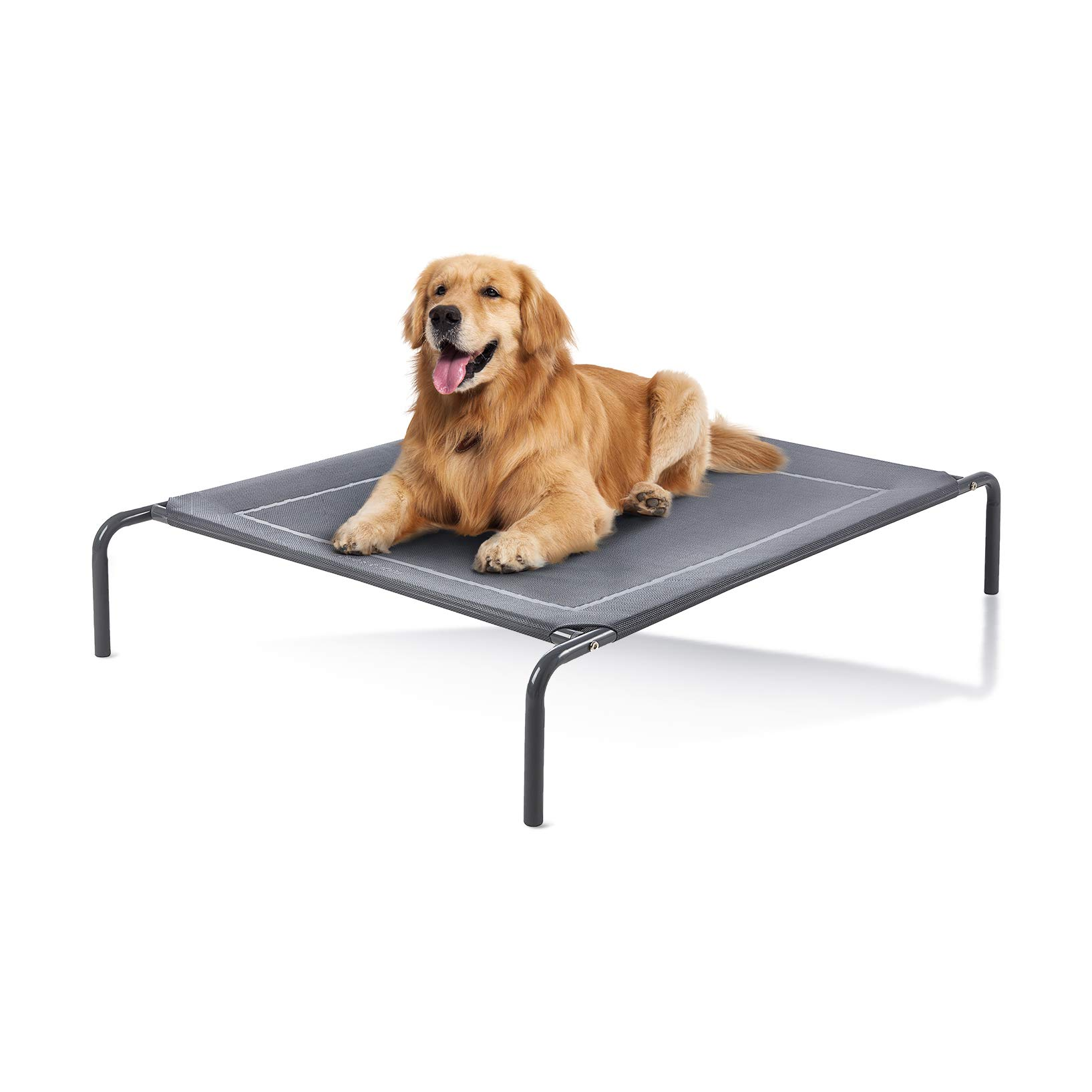 Picture of: Love S Cabin Outdoor Elevated Dog Bed 43 49in Cooling Pet Dog Beds For Extra Large Medium Small Dogs Portable Dog Cot For Camping Or Beach Durable Summer Frame With Breathable Mesh