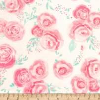 Shannon Fabrics Studio Minky Cuddle Rosie Blush Fabric Fabric by the Yard