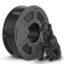 SUNLU Shiny SPLA Filament, 3D Printer Filament SPLA, Upgraded PLA Filament in 2020, 1.75mm, 0.02 mm, 1KG Black