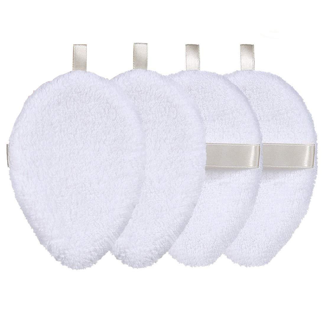 Reusable Makeup Remover Pads, Ultra-Soft Organic Bamboo Cotton Rounds, Reusable Cotton Pads Face Cleansing Wipes, Microfiber Makeup Remover Towel, Makeup Eraser Cloth