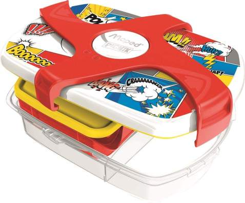 Maped Picnik Concept Leakproof Lunch Box, One Size, Comic (870012)