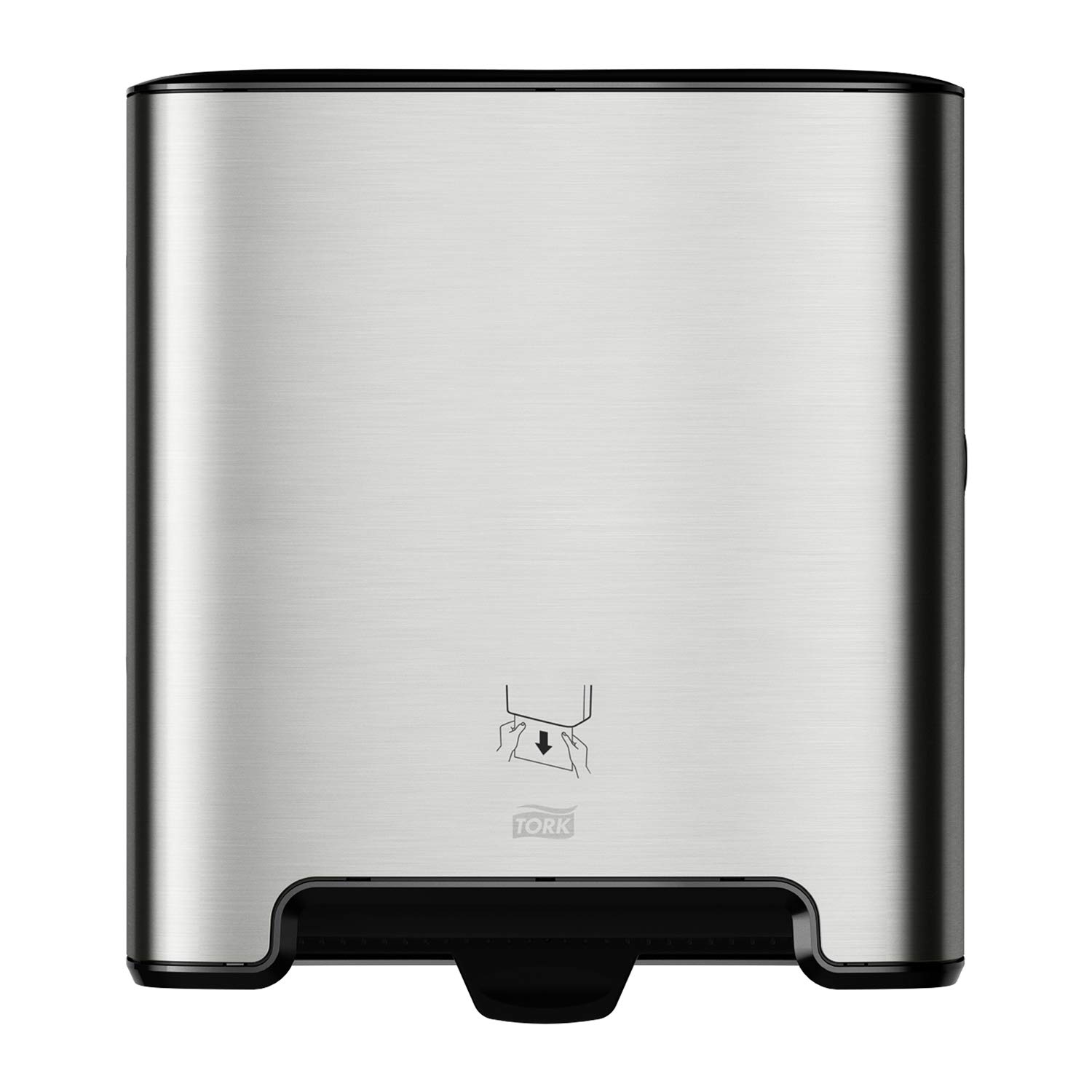 Tork Matic Paper Towel Dispenser H1, 461002, Image Design - one-at-a-time Dispensing, Stainless Steel