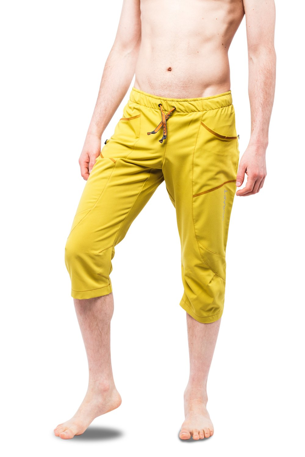 """Ucraft """"Xlite Rock Climbing Bouldering and Yoga Knickers ¾ Men's and Women's Capri Pants. Lightweight, Stretchy, Breathable"""