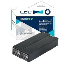 LCL Compatible Ink Cartridge Pigment Replacement for HP 970XL X451dn X451dw X476dn X476dw X551dw X576dw(2-Pack Black)