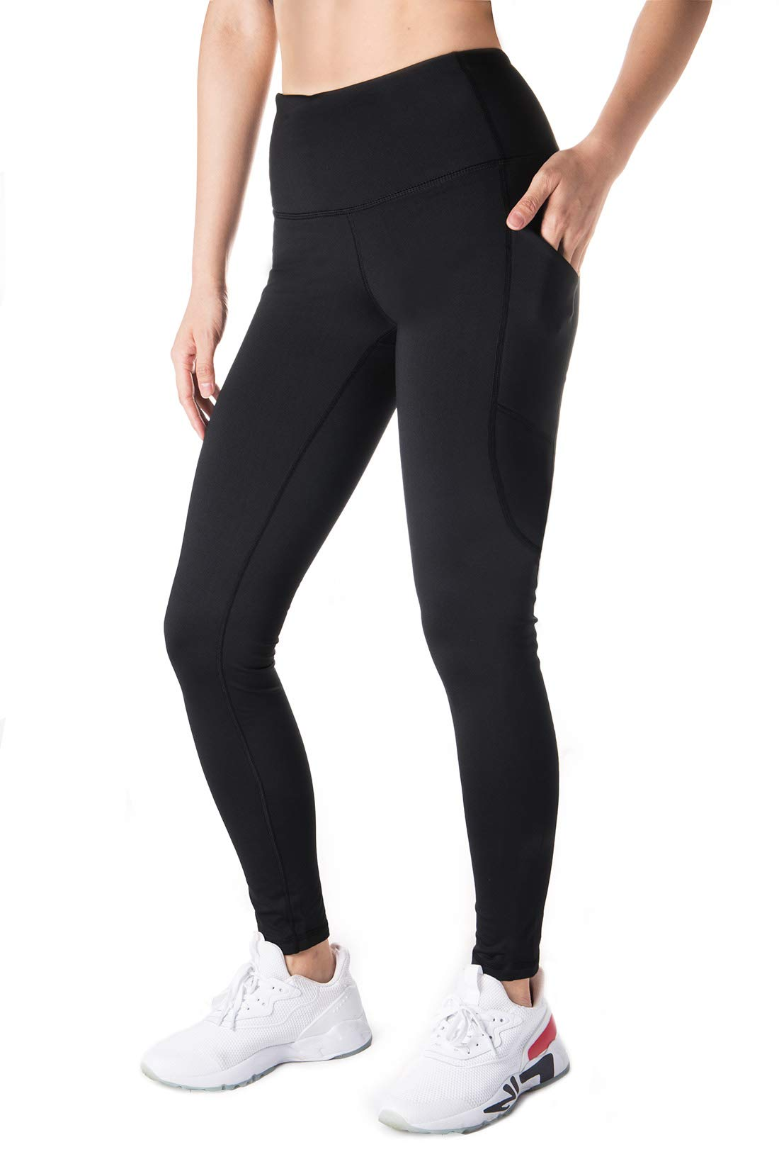 "Yogipace,Side Pocket,Women's 25""/31""/34""/36"" Active Yoga Leggings Ankle Length"