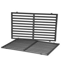 Stanbroil Cast Iron Grill Cooking Grates Fit Weber Spirit 500, Genesis Silver A and Spirit 200 Series (with Side Control Panels) Gas Grills, Replacement Parts for Weber 7521 7522 7523 65904 65905
