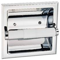 Design House 533125 Millbridge Recessed Toilet Paper Holder, Polished Chrome, One Size