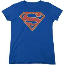 Supergirl TV Series Logo Womens T Shirt & Stickers