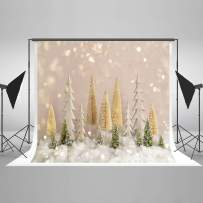 Kate10ft(W) x6.5ft(H) Christmas Tree with Glitter Backdrop Bokeh Dots Christmas Photo Backdrops Xmas Photo Studio Props for Happy New Year Winter Photography Party Decoration