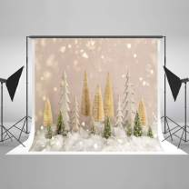 Kate10ft(W) x10ft(H) Christmas Tree with Glitter Backdrop Bokeh Dots Christmas Photo Backdrops Xmas Photo Studio Props for Happy New Year Winter Photography Party Decoration