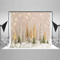 Kate7ft(W) x5ft(H) Christmas Tree with Glitter Backdrop Bokeh Dots Christmas Photo Backdrops Xmas Photo Studio Props for Happy New Year Winter Photography Party Decoration