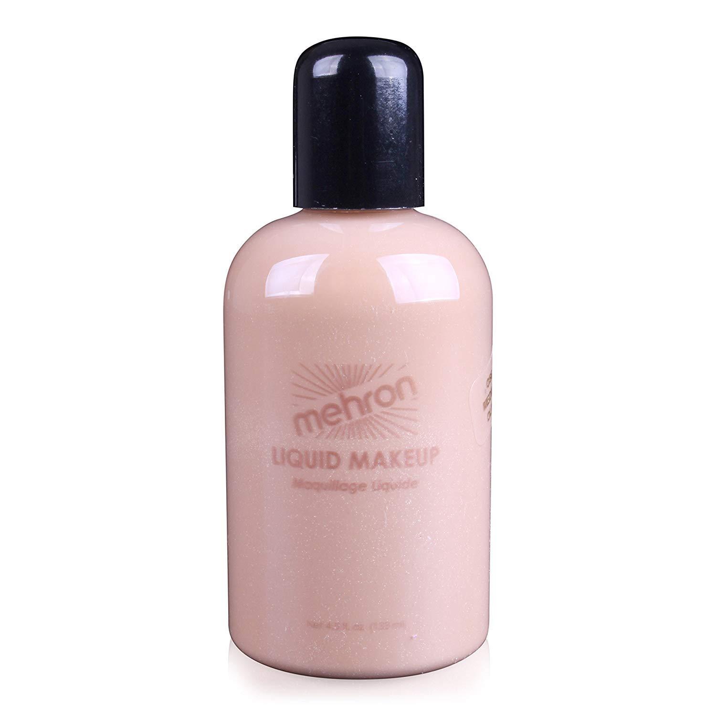 Mehron Makeup Liquid Face & Body Paint (4.5 ounce) (Medium Olive)