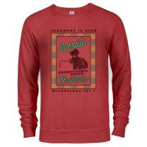 NBC The Office Dwight Belsnickel Ugly Christmas Sweatshirt - Perfect Official Gear from The Office